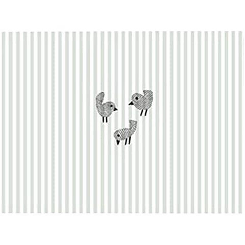 YARBAR 100% cotone Nordic forme animali creativi tavolo tovaglietta (Tovagliolo Di Uccello A Mano)