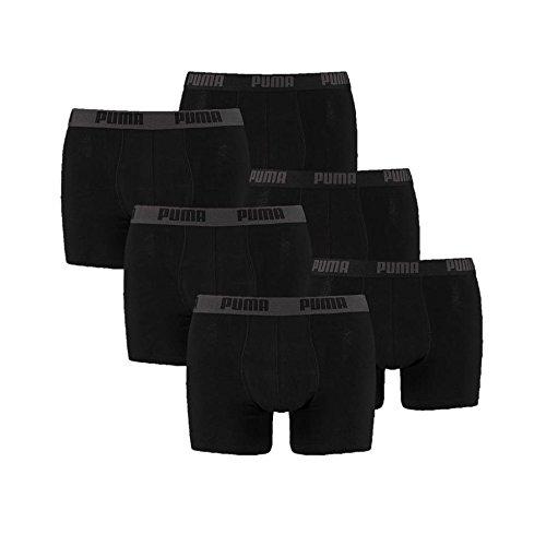 6 er Pack Puma Boxer shorts / schwarz / Size L / Herren Unterhose Unterwäsche