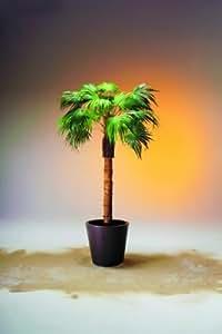 Palmier éventail avec tronc nature 210cm