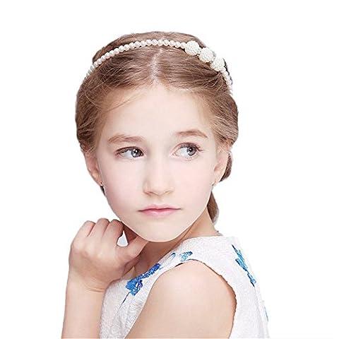 Blue Vessel Prinzessin Perle Haarband Kinder Haar Ornamente