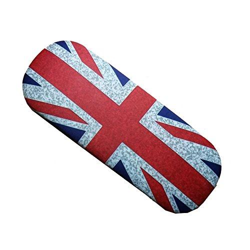 Union Jack Brillenetui mit weichem Putztuch! Brille London GB Vereinigtes Königreich Souvenir