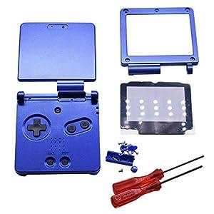 Henghx Ersatz Voll Gehäuse Shell Cover Hülle Teile Set w/Objektiv&Schraubendreher für Nintendo Gameboy Advance SP GBA SP…