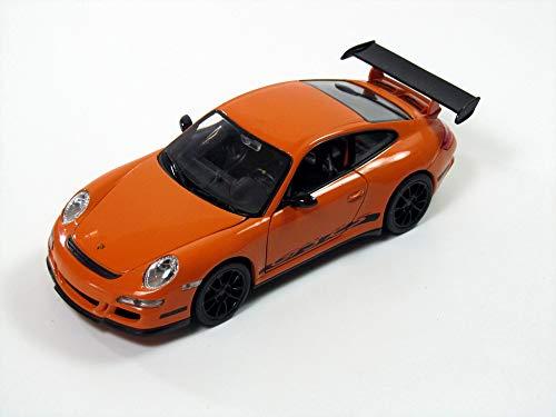 welly porsche 911 997 gt3 gt 3 rs orange 1/24 welly voiture modÈle