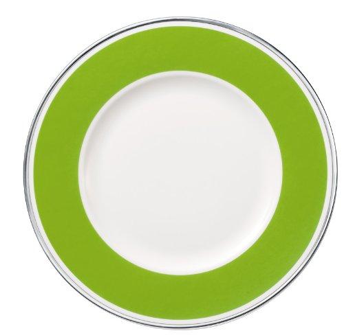27cm Speiseteller 'Anmut My Colour' aus Premium Bone Porzellan Farbe: Forest Green
