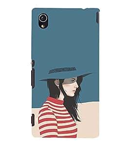 ifasho Designer Phone Back Case Cover Sony Xperia M4 Aqua :: Sony Xperia M4 Aqua Dual ( Gangsta Keep it Calm Quotes )