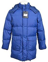 Roberto Cavalli Class Men s Jacket Blue Blue b5dd4fbb41