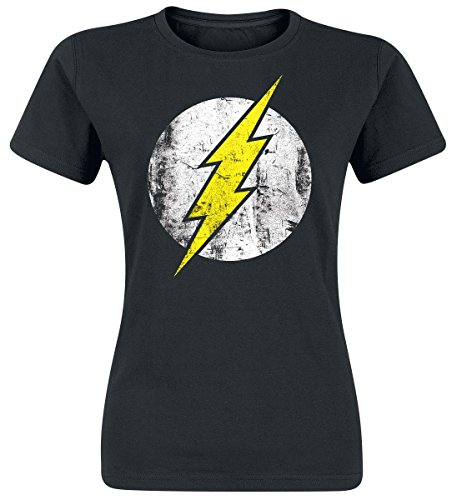 The Flash Logo Maglia donna nero M
