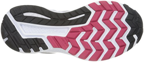 Saucony Guide 10, Chaussures de Running Femme Multicolore (Argent/Baie)