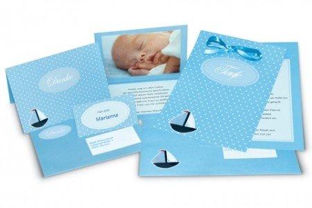 15tarjetas de invitación para bautismo-Set de tarjetas Bautizo Boaty-Todo Incluye: ...