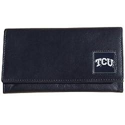 NCAA TCU Horned Frogs Leather Women's Wallet