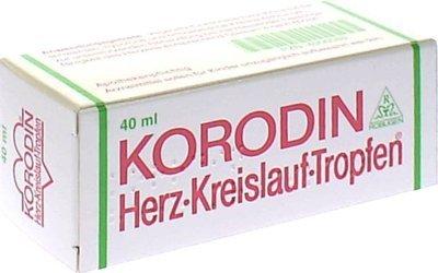 Korodin Herz Kreislauf Tropfen 40 ml