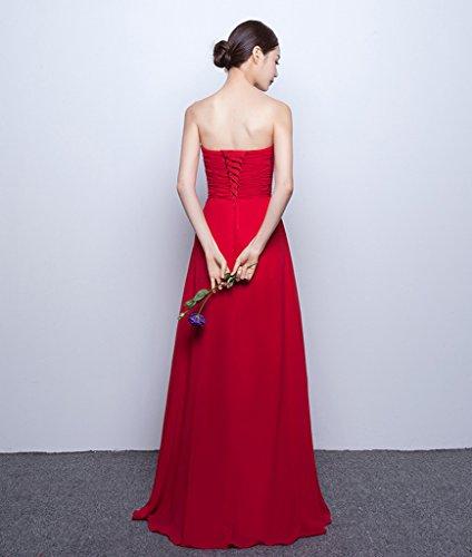 Vimans - Robe - Trapèze - Femme Fuchsia