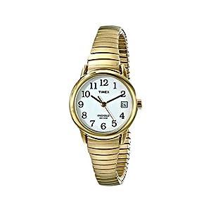 Timex – Reloj de Cuarzo para Mujer, Correa de Acero Inoxidable
