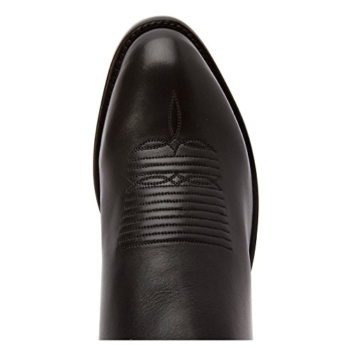 Lucchese M1003.R4 Large Cuir Santiags Black Ranch Hand