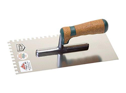 Stubai Glättekelle Zahnung Serie Kork, rostfrei, 6 mm, 433651KG
