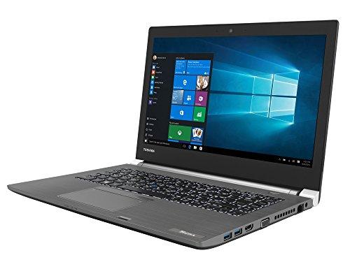 TOSHIBA Tecra A40-C-1DM Laptop (Intel i5-6300U, 35,6cm 14,0Zoll Full-HD entspiegelt, 8GB RAM, 256GB SSD, WLAN, Bluetooth 4.0, Windows 10 Pro) silber (Toshiba Laptop I5 Windows 7)