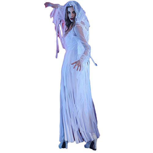 costyle Halloween Kleider Horror Bloody Ghost Brautkleid Zombie Kostüm