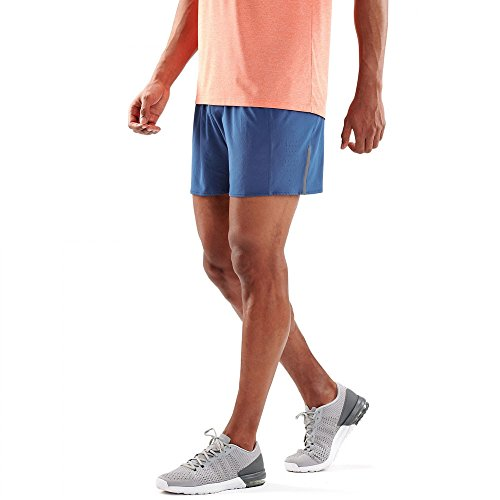 Skins Men's Network 4 Shorts - SS18 Blue