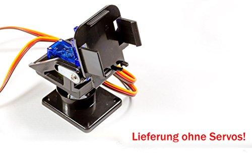 MissBirdler 2-Achsen FPV Kamera Tilt Nylon Plastik (ohne Servo) für SG90 Servo! Cmos-pan