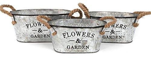 ovale-lot-de-3-pots-de-fleurs-de-style-en-metal-galvanise-pour-la-maison-ou-le-jardin