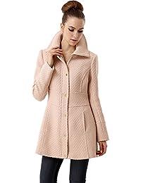 BGSD Women's 'Lorelei' Wool Blend Boucle Walking Coat