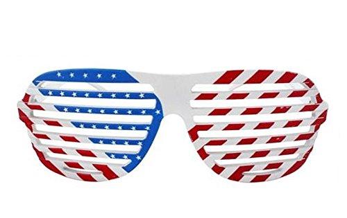 USA Neuheit-Shutter Shades Sonnenbrille