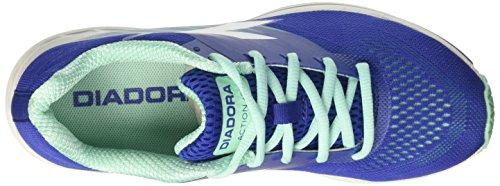 Diadora Action +2 W, Scarpe da Corsa Donna Blu (Blu Profondo/Bianco)