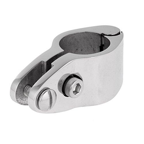 Sharplace Rohr Klemme Rohrschelle für Boot Sonnenverdeck Sonnensegel Bimini Top Montage und Befestigung Schelle, Tube Clamp -