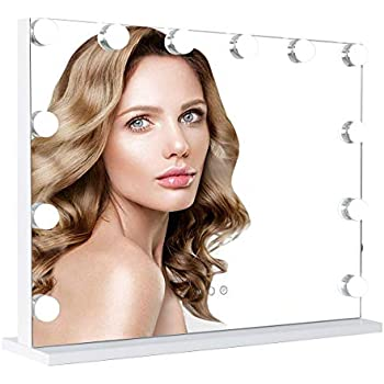 Waneway Hollywood Lighted Vanity Mirror With Led Lights