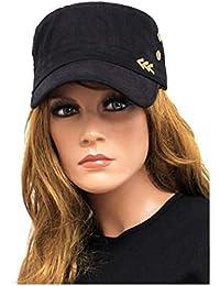 Schwarze Jeans Mütze