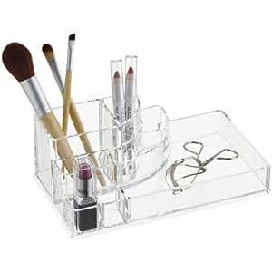 Okayji Acrylic Cosmetic Makeup Organizer, Clear