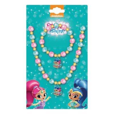 Shimmer & Shine Beaded Basic Schmuck Set Halskette Und Armband Dress Up Zubehör Für Mädchen Shimmer Damen Rock