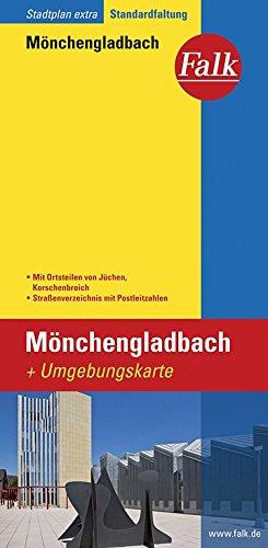 Falk Stadtplan Mönchengladbach, Extra Standardfaltung