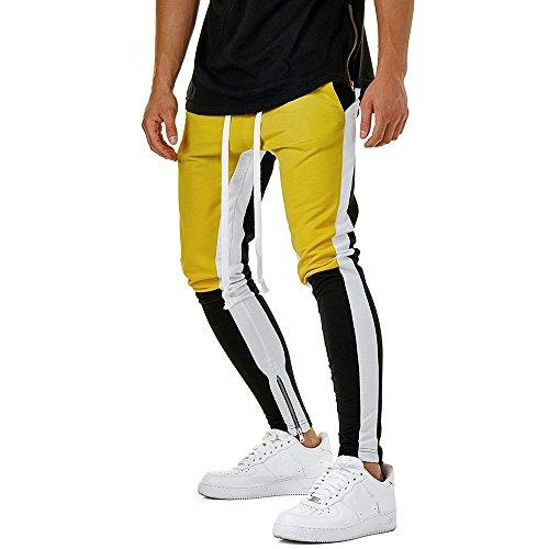Pantalón Chandal Hombre Pantalones Deportivos Cordones