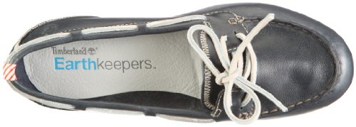 Timberland Earthkeepers Belle Island  Women s Boat Shoes  Blue  3 5 UK
