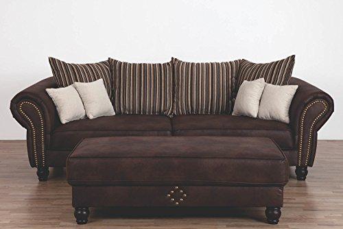 Wohnorama Big Sofa Carlos von Matex Dunkelbraun by