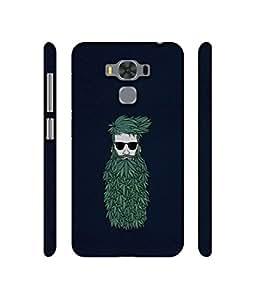 NattyCase Beard Man Design 3D Printed Hard Back Case Cover for AsusZenfone3MaxZC553KL