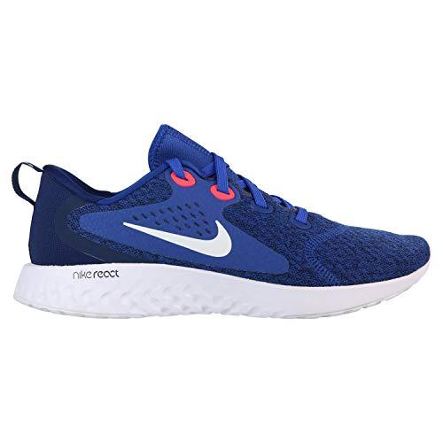 Nike Herren Legend React Laufschuhe, Mehrfarbig (Indigo Force/White-Blue Void-Red Orbit 405), 43 EU (Blue Schuhe Jordan Legend)