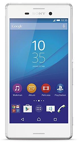 "Sony M4 Aqua - Smartphone de 5"" (Qualcomm MSM8939 Snapdragon 615, 8 GB ROM, 2 GB RAM, Android 5.0 Lollipop) color blanco [modelo español]"