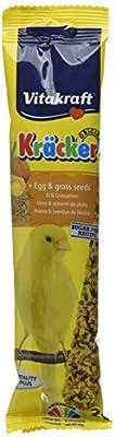 Vitakraft Canary Kracker Bird Food Egg-Grass Seeds, Pack of 7 from Vitakraft