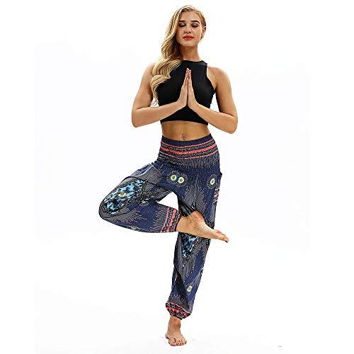 TianWlio Leggings Frauen Fitness Yoga Sport Winter Männer Frauen Beiläufige Lose Hippie Yoga Hosen Baggy Boho Aladin Harem ()