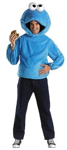 Sesame Street Cookie Monster Adult Costume X-Large 42-46