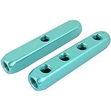 4 en 1 puertos de aluminio con forma de cuboide Air en azul ordinograma