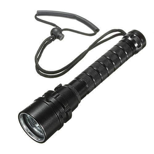 3 Stück L2 18650 LED Rechargeble Ultra Strong Light Tauchlampe wasserdicht-schwarz