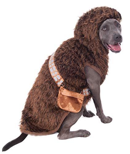 Rubie 's Star Wars Big Dog 's Pets Chewbacca Kostüm, Größe XXL (Kostüm Chewbacca Hund)