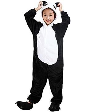 Pijama de Una Pieza Disfraz de Animal Kigurumi Disfraces de Animales para Niños y Adolescentes