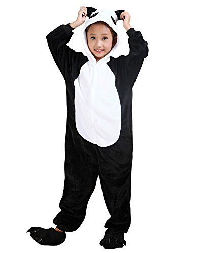 Imagen de pijama de una pieza disfraz de animal kigurumi disfraces de animales para niños y adolescentes panda xl