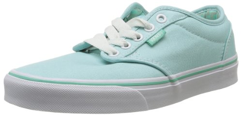vans atwood canvas, women's low-top trainers, aqua/sheer aqua, 34.5 eu Vans Atwood Canvas, Women's Low-Top Trainers, Aqua/Sheer Aqua, 34.5 EU 41re9CHEBJL