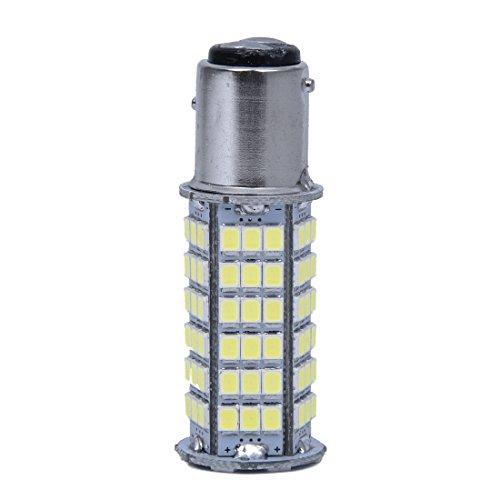 SODIAL(R) 2x T25 p21/5w BAY15D 1157 3528 SMD 102 LED AMPOULE Avant Phare Blanc Voiture