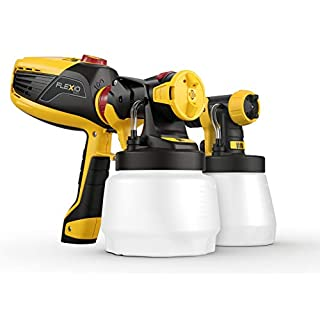 Wagner Universal Sprayer W 590 FLEXiO - Electric Paint Sprayer for Wall & Ceiling/Wood & Metal paint - interior and exterior usage, covers 15 m² in 6 min, 1300 ml/800 ml capacity, 630 W